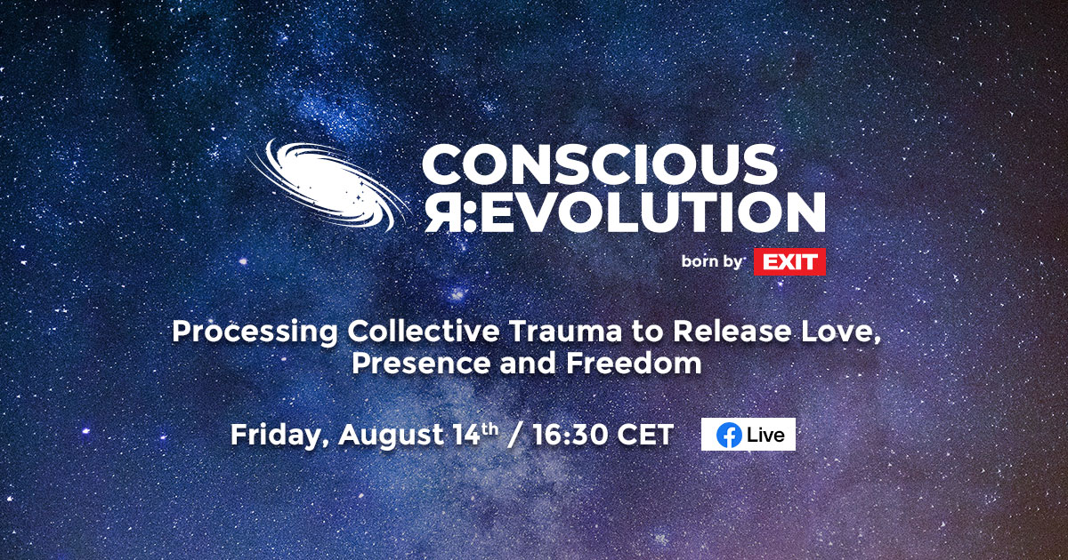 Processing collective trauma to release love, presence and freedom